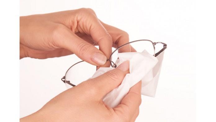 Влажные салфетки для очков